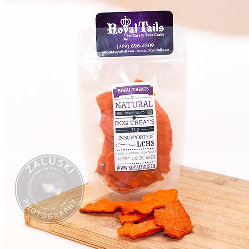 Sweet Potato Treats | Royal Tails